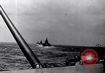 Image of Naval gunfire Okinawa Ryukyu Islands, 1946, second 10 stock footage video 65675027754