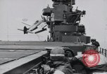 Image of F4F-3 strikes carrier island and crashes Atlantic Ocean, 1941, second 7 stock footage video 65675027792