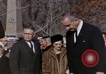Image of President Johnson Arlington Virginia USA, 1967, second 10 stock footage video 65675027798