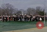 Image of President Johnson Arlington Virginia USA, 1967, second 8 stock footage video 65675027799