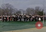 Image of President Johnson Arlington Virginia USA, 1967, second 10 stock footage video 65675027799