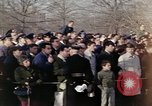Image of Virgil I Grissom funeral Arlington Cemetery Virginia USA, 1967, second 8 stock footage video 65675027809