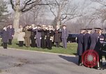 Image of Astronaut Virgil I Grissom funeral Arlington Cemetery Virginia USA, 1967, second 5 stock footage video 65675027810