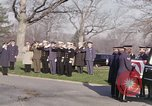 Image of Astronaut Virgil I Grissom funeral Arlington Cemetery Virginia USA, 1967, second 7 stock footage video 65675027810