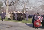 Image of Astronaut Virgil I Grissom funeral Arlington Cemetery Virginia USA, 1967, second 9 stock footage video 65675027810