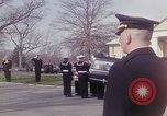 Image of Funeral of Astronaut Lieutenant Commander Roger B Chaffee Arlington Virginia USA, 1967, second 9 stock footage video 65675027813