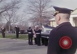 Image of Funeral of Astronaut Lieutenant Commander Roger B Chaffee Arlington Virginia USA, 1967, second 10 stock footage video 65675027813