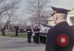 Image of Funeral of Astronaut Lieutenant Commander Roger B Chaffee Arlington Virginia USA, 1967, second 11 stock footage video 65675027813