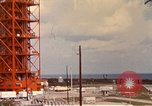 Image of NASA launch pad Cape Kennedy Florida USA, 1967, second 1 stock footage video 65675027861