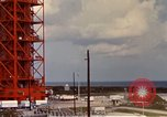 Image of NASA launch pad Cape Kennedy Florida USA, 1967, second 3 stock footage video 65675027861
