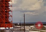 Image of NASA launch pad Cape Kennedy Florida USA, 1967, second 4 stock footage video 65675027861