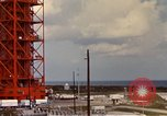 Image of NASA launch pad Cape Kennedy Florida USA, 1967, second 5 stock footage video 65675027861