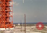 Image of NASA launch pad Cape Kennedy Florida USA, 1967, second 7 stock footage video 65675027861