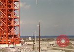Image of NASA launch pad Cape Kennedy Florida USA, 1967, second 8 stock footage video 65675027861