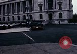 Image of Union station and Capitol building Washington DC USA, 1967, second 2 stock footage video 65675027863