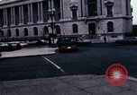 Image of Union station and Capitol building Washington DC USA, 1967, second 4 stock footage video 65675027863