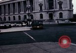 Image of Union station and Capitol building Washington DC USA, 1967, second 5 stock footage video 65675027863