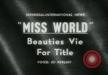 Image of Miss World Competition London England United Kingdom, 1961, second 2 stock footage video 65675027885