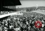 Image of horse race Laurel Maryland USA, 1961, second 6 stock footage video 65675027886