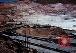 Image of Open pit copper mine Morenci Arizona USA, 1939, second 11 stock footage video 65675027891