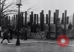 Image of German people work together to build defenses Berlin Germany, 1945, second 7 stock footage video 65675027908