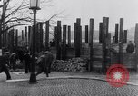 Image of German people work together to build defenses Berlin Germany, 1945, second 8 stock footage video 65675027908