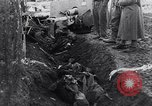 Image of massacre caused by Soviet troops Germany, 1945, second 11 stock footage video 65675027913