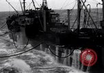 Image of fueling of ship Pacific Ocean, 1945, second 6 stock footage video 65675027917