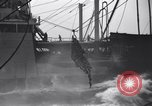 Image of extension of fueling lines Atlantic Ocean, 1945, second 3 stock footage video 65675027918