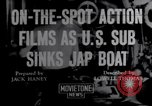 Image of United States submarine Pacific Ocean, 1943, second 1 stock footage video 65675027924