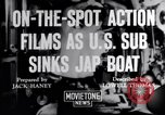 Image of United States submarine Pacific Ocean, 1943, second 5 stock footage video 65675027924