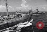Image of U.S. Warships in convoy for the invasion of Sicily Atlantic Ocean, 1943, second 4 stock footage video 65675027932