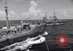 Image of U.S. Warships in convoy for the invasion of Sicily Atlantic Ocean, 1943, second 5 stock footage video 65675027932