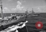 Image of U.S. Warships in convoy for the invasion of Sicily Atlantic Ocean, 1943, second 6 stock footage video 65675027932