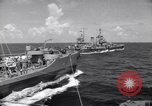 Image of U.S. Warships in convoy for the invasion of Sicily Atlantic Ocean, 1943, second 7 stock footage video 65675027932