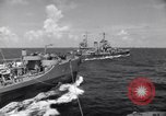 Image of U.S. Warships in convoy for the invasion of Sicily Atlantic Ocean, 1943, second 8 stock footage video 65675027932