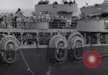 Image of convoy underway Atlantic Ocean, 1943, second 6 stock footage video 65675027933