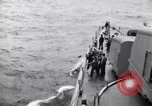 Image of USS Nelson (DD-623) accompanying convoy of ships in Atlantic Atlantic Ocean, 1943, second 12 stock footage video 65675027934
