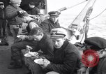 Image of Crew of USCGC Campbell have lunch on deck Nova Scotia, 1943, second 5 stock footage video 65675027942