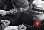 Image of Crew of USCGC Campbell have lunch on deck Nova Scotia, 1943, second 11 stock footage video 65675027942