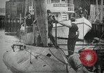 Image of Plunger Class submarine firing a torpedo New Suffolk New York USA, 1904, second 6 stock footage video 65675027950