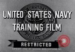 Image of Navy training film United States USA, 1945, second 2 stock footage video 65675027971