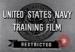 Image of Navy training film United States, 1945, second 3 stock footage video 65675027971