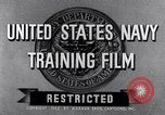 Image of Navy training film United States, 1945, second 4 stock footage video 65675027971