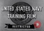 Image of Navy training film United States, 1945, second 5 stock footage video 65675027971
