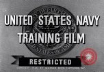 Image of Navy training film United States USA, 1945, second 6 stock footage video 65675027971