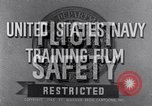 Image of Navy training film United States USA, 1945, second 7 stock footage video 65675027971