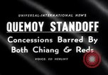Image of Cold War China Quemoy standoff China, 1958, second 2 stock footage video 65675027976