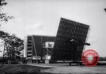 Image of US Army solar energy furnace and heliostat Massachusetts United States USA, 1958, second 10 stock footage video 65675027977