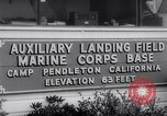 Image of Marine Recon unit skydivers California United States USA, 1958, second 4 stock footage video 65675027978